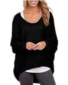 Womens Ladies Love Owl Skull Slash Neck Off Shoulder Knitted Batwing Jumper Top