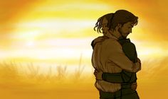 Jyn and Cassian, Rogue One