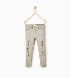 Pantalón sarga rotos - Disponible en más colores