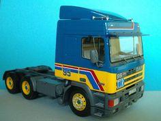 DAF 95  Spacecab (1:24 Italeri) Model Car, Trucks, Vehicles, Model, Track, Truck, Vehicle, Cars, Tools