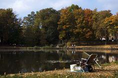 na ryby... | staw w Parku Grota w Suchej Górze | Bytom