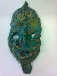 archeologische vondsten: masker