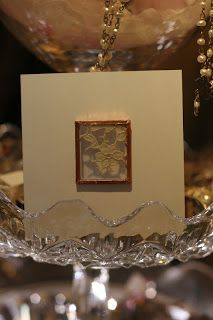 Antique Lace Window Cards