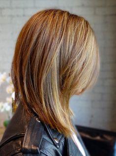 straight layered balayage hair - Google Search