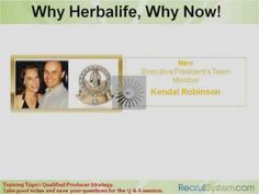 Why Herbalife, Why Now! See our new president team talking about the same. Why now in India u think
