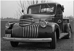 Old Chevy truck from 1946.