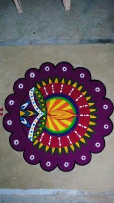 Pretty Diwali Rangoli