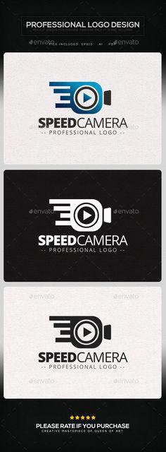 Speed Camera Logo Template - Objects Logo Templates