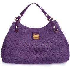Marc Jacobs Handbags - SALE Marc By Marc Jacobs Quilted Purple Bag.
