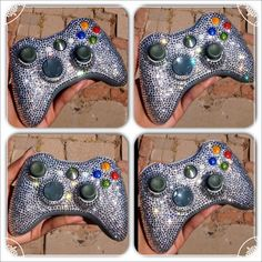 Crochet Xbox Controller : blinged controllers xbox controllers glittered videogames bling bling ...