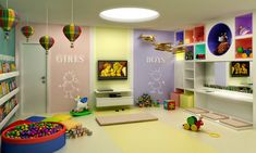 Brinquedoteca Daycare Setup, Daycare Rooms, Indoor Playroom, Character Design Challenge, Entertainment Center Wall Unit, Room Setup, Kids Decor, Home Decor, Kids Church