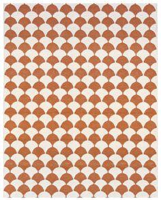 Gerda rug - scallop pattern from Brita