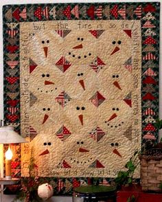 Hey, I found this really awesome Etsy listing at http://www.etsy.com/listing/168428510/primitive-folk-art-quilt-pattern-let-it