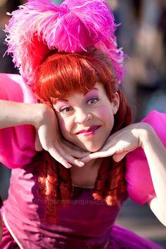 Evil stepsister Anastasia from Disney's Cinderella.