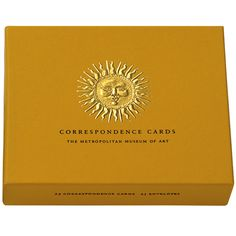 Sunburst Correspondence Cards