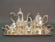 Sterling Silver Tea Set - Bing images
