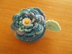 crochet measuring tape cover