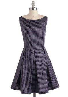 Beauty, Squared Dress, #ModCloth  I want this but they never seem to have it in my size.
