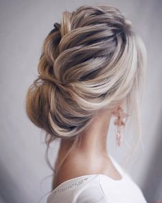 Wedding Hairstyle Inspiration , updo hairstyles, elegant bridal updo