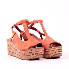 Aroania Sandal Orange, $75, now featured on Fab.