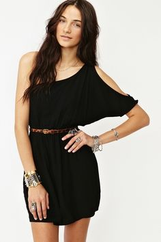 Cute one shoulder dress