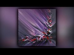 Satisfying Abstract Painting / Acrylics / Easy / Palette Knife / Demo - Hobbies paining body for kids and adult Acrylic Pouring Art, Acrylic Art, Acrylic Painting Canvas, Easy Acrylic Paintings, Palette Art, Palette Knife Painting, Abstract Painting Techniques, Abstract Art, Abstract Portrait