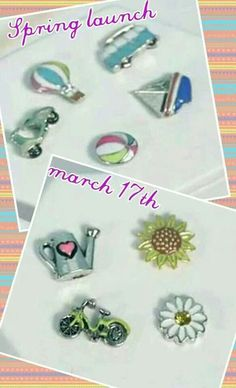2014 spring charms.. who's ready? TraceyBertram.origamiowl.com