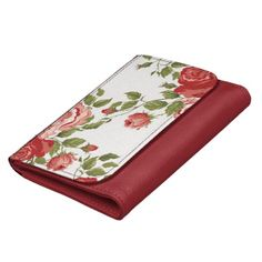 Old Fashioned Roses Design Wallet