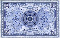 These Exquisite Carpet Designs Were Drawn Entirely With A Bic Pen