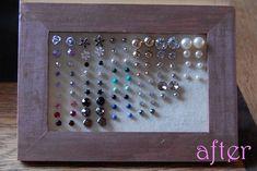 after earring frame tutorial by HGK handmade, via Flickr