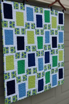 Millions of Thoughts and Urban Quiltworks: Urban baby boy Quilt