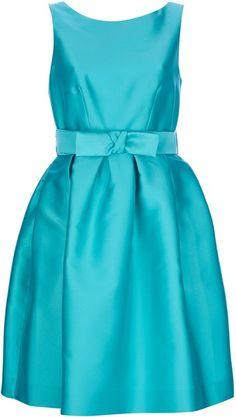 Color Azul Turquesa - Turquoise!!!  PAROSH Jasmine Dress - Lyst