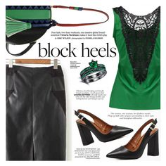 """Step Up: Block Heels"" by katjuncica ❤ liked on Polyvore featuring blockheels"