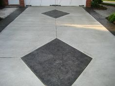 Concreters and suppliers of exposed aggregate concrete in Melbourne. Driveway Paint, Driveway Design, Exposed Aggregate Concrete, Concrete Driveways, Decorative Concrete, Stamped Concrete, Front Yard Landscaping, Landscaping Ideas, Driveway Installation