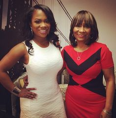 'The Real Housewives Of Atlanta': Kandi Burruss and Mom