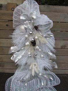 3' Winter Teardrop Winter Door Decor by CreativeSpacesbyGina