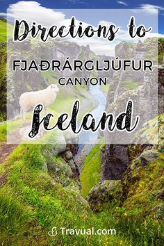Directions to Fjaðrárgljúfur Canyon in Iceland. #FreeTravelGuides