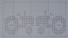 Bilderesultat for strikke diagram Beaded Cross Stitch, Cross Stitch Rose, Cross Stitch Flowers, Cross Stitch Charts, Cross Stitch Patterns, Crochet Patterns, Hat Patterns, Knitting Machine Patterns, Knitting Charts