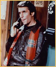 The Fonz: for @lauriewrites