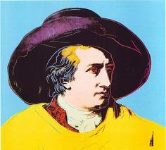 Goethe, 1982, Andy Warhol
