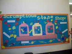 Maths shapes display