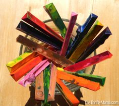 Recycled Crayons Tutorial