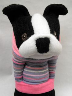 A Little Boston Terrier Sockamajig