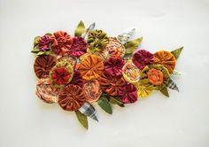 Flower DIY Tutorial PDF Floral Patchwork Tutorial PDF | Etsy