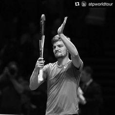 : @atpworldtour  David #Goffin  beats Dominic #Thiem 6-4, 6-1 to set up #NittoATPFinals semi with Roger Federer tomorrow!  #nittoatpfinals #tennis #atp #london #goffin #tennisnews #atpfinals #davidgoffin #etennisleague #etennisleaguenation