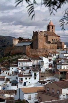 Castillo de Iznajar, Córdoba. #spaintours