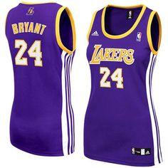 a73819b141e4 ... adidas Kobe Bryant Los Angeles Lakers Womens Replica Jersey-Purple ...