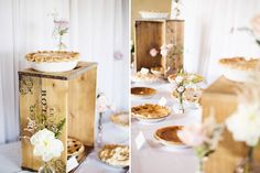 Wedding Decorations, Table Decorations, Lavender, Pie, Pastel, Photography, Food, Torte, Cake