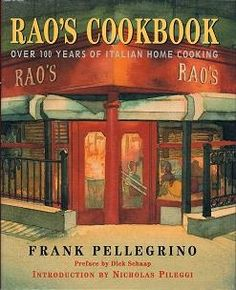 """Collectible Cooking: """"Rao's Cookbook"""" - Minestrone"""