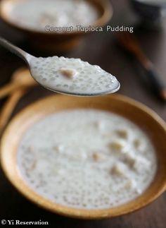 {Recipe} Coconut Tapioca Pudding 椰汁西米露 - The perfect summer gluten-free dessert